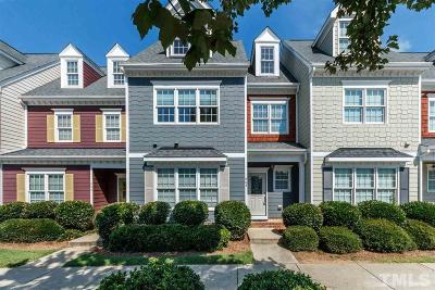 Wake County Townhouse For Sale: 807 Myrtle Grove Lane