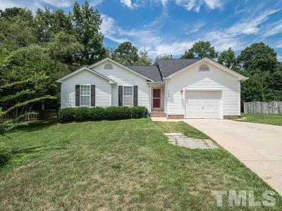 Raleigh Single Family Home For Sale: 1105 Pilton Place