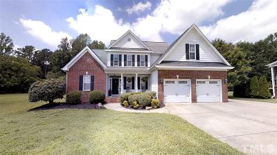 Single Family Home For Sale: 1408 Upchurch Woods Drive