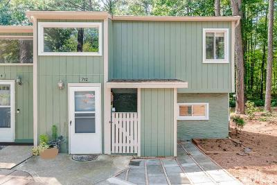 Raleigh Townhouse For Sale: 712 Godwin Court