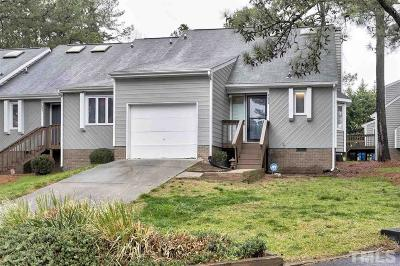 Raleigh NC Townhouse For Sale: $155,500