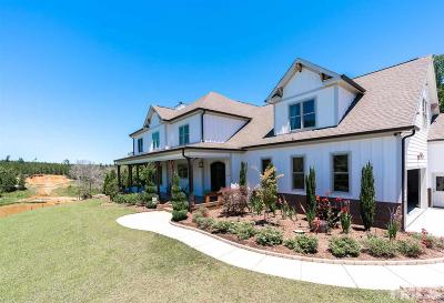Holly Springs Single Family Home Contingent: 254 Gray Stone Lane