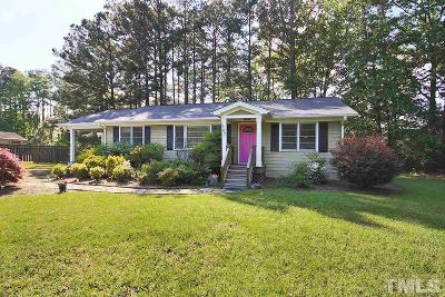 Chapel Hill Single Family Home For Sale: 587 Old Farrington Road