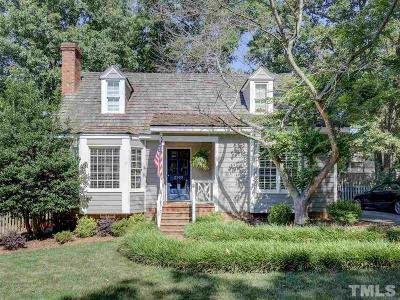 Raleigh Single Family Home For Sale: 2309 Brisbayne Circle