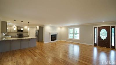 Louisburg Single Family Home For Sale: 40 Promise Land Road