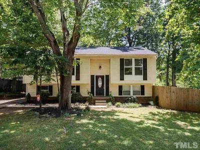 Cary Single Family Home For Sale: 105 Abbott Lane
