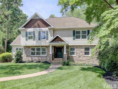 Raleigh Single Family Home For Sale: 3317 Coleridge Drive