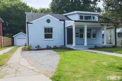Raleigh Single Family Home For Sale: 1308 & 1310 S Bloodworth Street