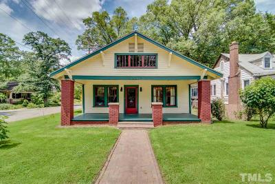 Durham County Single Family Home Contingent: 124 W Lynch Street