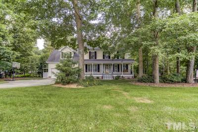Wake Forest Single Family Home Contingent: 1508 Sand Hollow Circle