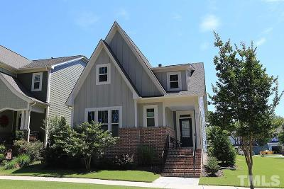 Wake Forest Single Family Home Contingent: 929 Wildflower Ridge Road