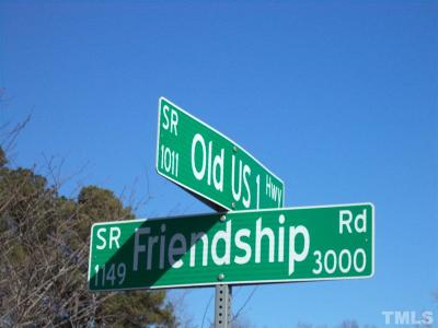 Wake County Residential Lots & Land For Sale: 3000 Friendship Road
