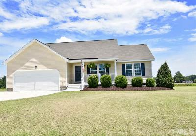 Angier Single Family Home Pending: 61 Hunters Point Court