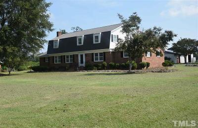 Selma Single Family Home For Sale: 1465 Bizzell Grove Church Road