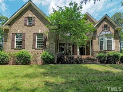 Wake Forest Single Family Home For Sale: 1500 Porter Creek Court