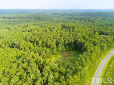 Chatham County Residential Lots & Land For Sale: Off Gade Bryant Road