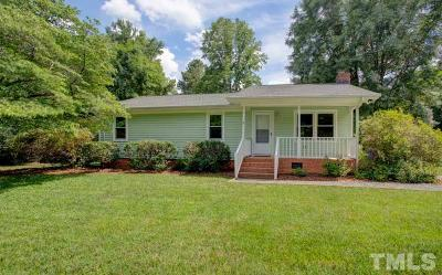 Chapel Hill Single Family Home Contingent: 2203 Winterberry Drive