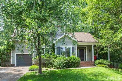 Carrboro Single Family Home For Sale: 1544 Pathway Drive