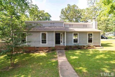 Cary Single Family Home Pending: 1900 Talloway Drive