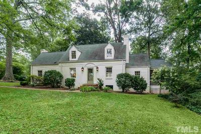 Raleigh Single Family Home For Sale: 2601 London Drive
