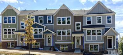 Wake Forest Townhouse For Sale: 1006 Royal Mill Avenue