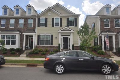 Main Street Square Townhouse For Sale: 130 Spring Pine Lane