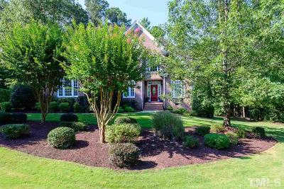 Apex Single Family Home Pending: 3737 Wesley Ridge Drive