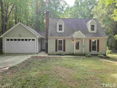 Willow Spring(S) Single Family Home Contingent: 11304 Old Stage Road