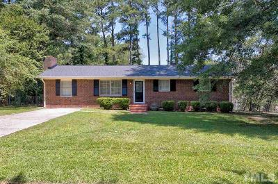 Garner Single Family Home For Sale: 705 Wakeland Drive