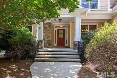 Chapel Hill Single Family Home For Sale: 16 Emerald Crest Point