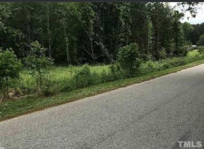 Wake County Residential Lots & Land For Sale: 4933 Jessie Drive