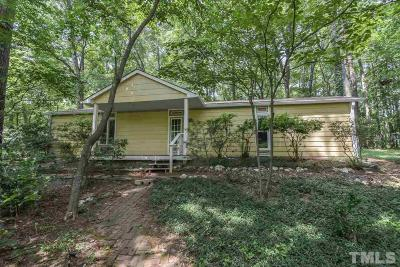 Chapel Hill Single Family Home For Sale: 6211 Lance Circle