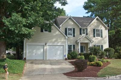 Raleigh Single Family Home Contingent: 8617 Hawksmoor Drive