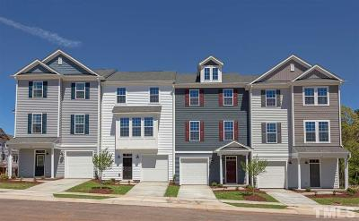Morrisville Townhouse For Sale: 1123 Myers Point Drive