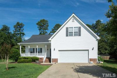 Fuquay Varina Single Family Home Pending: 48 Delmar Court