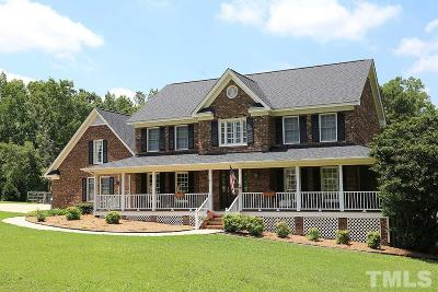 Harnett County Single Family Home For Sale: 95 Holly Ridge