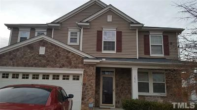 Wake County Rental For Rent: 3839 Moncacy Drive