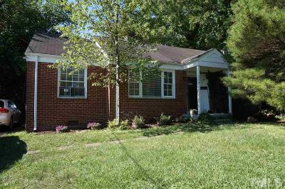 Single Family Home For Sale: 754 E Whitaker Mill Road