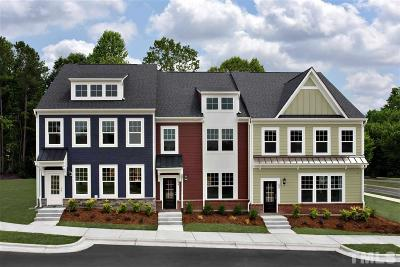 Wake Forest Townhouse For Sale: 457 Rally Point Place