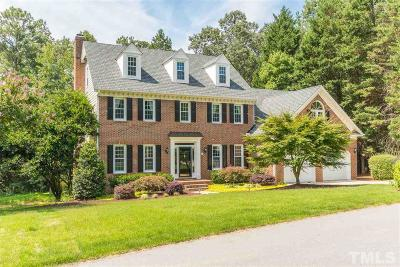 Raleigh Single Family Home Contingent: 304 Gretton Place