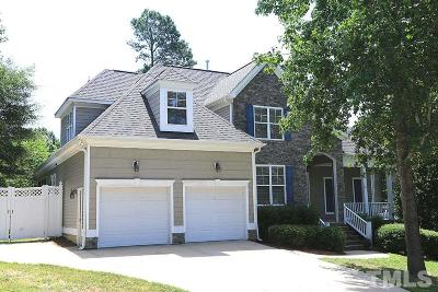 Rolesville Single Family Home Contingent: 413 Green Turret Drive