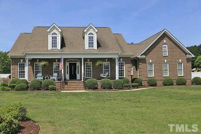 Wendell Single Family Home Contingent: 3721 Carriage Manor Court
