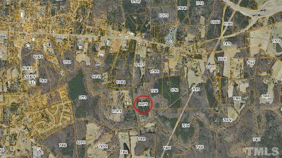 Chatham County Residential Lots & Land For Sale: Whites Mhp Road