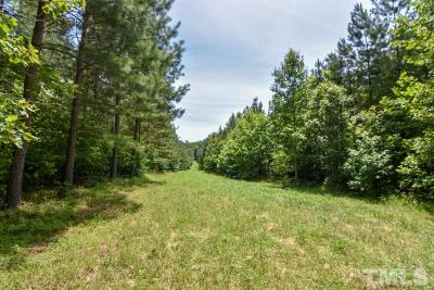 Granville County Residential Lots & Land For Sale: 43.38 acres Tommie Daniel Road