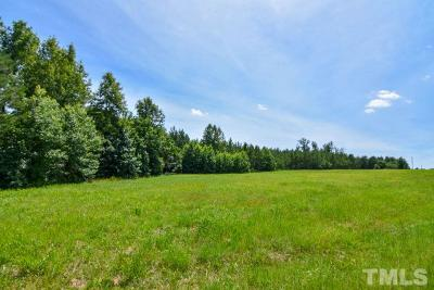 Granville County Residential Lots & Land For Sale: 25 acres Tommie Daniel Road