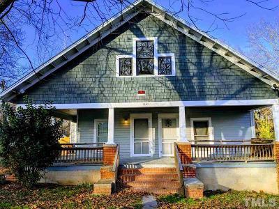 Durham Multi Family Home Contingent: 1501 Lathrop Street
