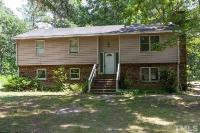 Wendell Single Family Home Contingent: 172 Winchester Drive
