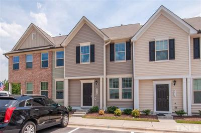 Wake Forest Townhouse Contingent: 9938 Sweet Basil Drive