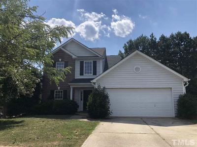Holly Springs Single Family Home Contingent: 208 Firefly Road