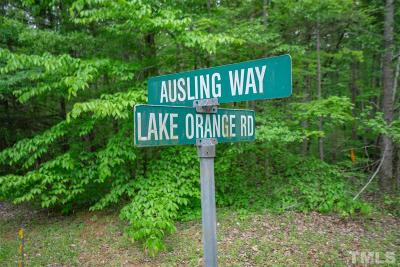 Orange County Residential Lots & Land For Sale: lot 17 Lake Orange Road